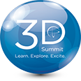 3D Summit footer post logo